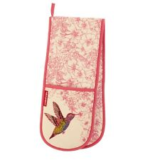 Hummingbird Double Oven Glove by Ulster Weavers - Pink