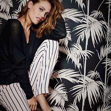 Tapete Metropolitan Stories | Paris Mode & Fashion Schwarz Rosa Vliestapete