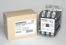 Free Priority Mail, Siemens Contactor 40 Amp 3 Pole, 208 / 240 V. Coil, 42CF35AG