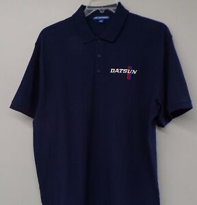 DATSUN Old Logo Embroidered Mens Polo Shirt XS-6XL, LT-4XLT Nissan 510 New