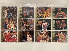 Fleer ultra 95-96 Total D complete set with Michael Jordan Rare