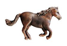 Poney Bronze Étain Broche Badge - Exclusivité 1000 Drapeaux