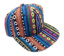 STRIPED NAVAJO PRINT SNAPBACK HAT CAP ABSTRACT AZTEC NATIVE AMERICAN RETRO