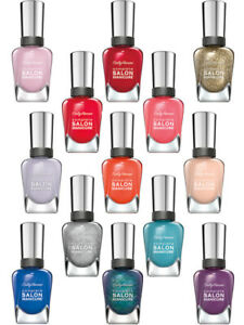 Sally Hansen Complete Salon Manicure Nail Polish Collection Choose Color B2G1