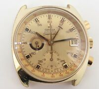 .Vintage 1972 Omega Seamaster Gold Plated Chronograph Watch 176.007 Serviced