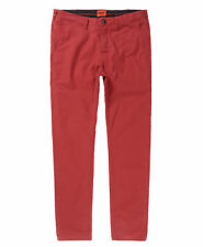 Gents Superdry Red Regular Fit Chinos Size L