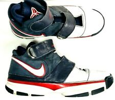 Nike Zoom KOBE II 2 Strength USA Olympic Mens White Red Blue Shoes 12 316835-411