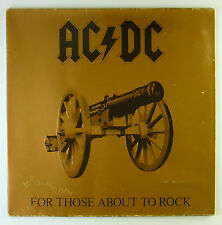 """12"""" LP - AC/DC - For Those About To Rock We Salute You - k5240"""