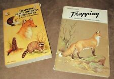 VINTAGE TRAPPING BOOKS - North American Furbearers & PA TRAPPING