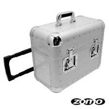 f329fa9aa7 ZOMO TP-70 XT silver bauletto/flight case trolley per contenere vinili  accessori