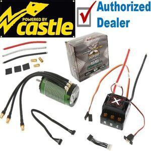 Castle Creations Sensored Mamba Monster X / MMX ESC + 2200kv Motor Combo
