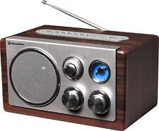 Roadstar HRA-1345US Retro Design Radio Vintage Line mit USB und SD Kartenslot