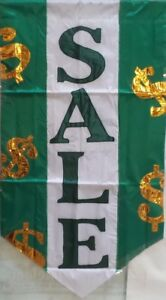 Sale Applique Flag by NCE #21001, Outdoor, Durable! Two sided.