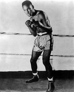 Heavyweight Champion EZZARD CHARLES Glossy 8x10 Photo Boxing Vintage Print