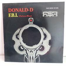 """MAXI 12"""" DONALD D F.B.I. 655437 6"""