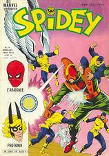 Comics Français  Lug - Semic   SPIDEY  N° 38  avec les x-men