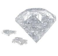 3D Crystal Puzzle Jigsaw Model 41 pcs a Box Diamond CLEAR