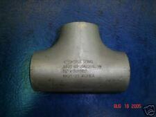 """Stainless Steel Butt Weld Tee 1-1/4"""" Sch 10 T-304/L New"""