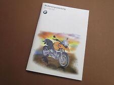 BMW r1150gs manuale d'uso