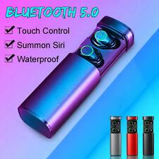 TWS Bluetooth earbud 5.0 wireless headphone noise canceling waterproof headphone