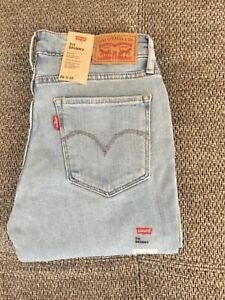 Levi's 711 Skinny Damen Jeanshose (18881-0366) Blau Größe wählbar neu mit Etiket