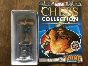 EAGLEMOSS  Marvel Chess Collection Special Edition - The Thing + Magazine