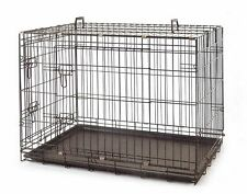 """Brand New * 42"""" X-Large Collapsible Metal Pet Dog Puppy Cage Crate * ED624"""