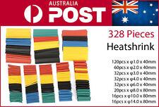 328Pcs Assorted 8 Sizes Heat Shrink Set Kit 3mm 4mm 6mm 8mm 10mm Heatshink AU