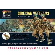 28mm Warlord Russian Siberian Veterans BNIB, WWII Bolt Action,