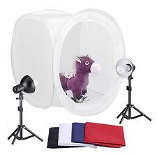 "32""Cube Box Softbox Photo Video Light Stand E27 Bulb Lampshade Lighting Tent Kit"