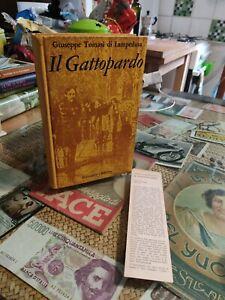 Il Gattopardo Feltrinelli Tomasi di Lampedusa segnalibro 1962