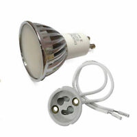LAMPADINA A LED ATTACCO GU10 7W WATT LUCE FREDDA CALDA NATURALE PORTALAMPADA G10