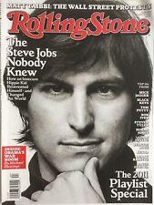 STEVE JOBS October 27, 2011 ROLLING STONE Magazine ADAM LEVINE LENNY KRAVITZ
