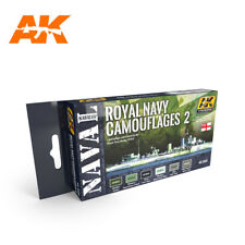 ROYAL NAVY CAMOUFLAGES 2 paint set from AK Interactive