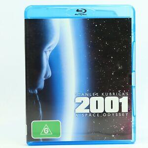 2001 A Space Odyssey Stanley Kubrick Keir Dullea Gary Lockwood Blu Ray 2008 GC