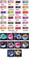 Solid Color Grosgrain Ribbon -50yards/Roll, Premium Quality, 6 sizes, 34 colors
