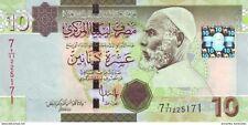 LIBYA 10 DINARS ND (2009) P-73a UNC [LY537a]