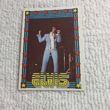 1978 Monty Gum - ELVIS PRESLEY - Club Card From Holland - (Blank Back) - Card 31