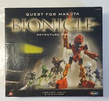 Quest for Makuta Bionicle adventure game LEGO RoseArt Complete 31390.  Open Box