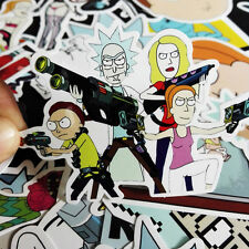 35pcs Rick And Morty Car Sticker Random Character Sticker DIY Good Quality