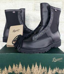 "Danner Mens 8"" Acadia GTX Law Enforcement Boots 21210 Sz 10.5 EE $370 USA Black"