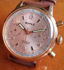 Kiple chronograph Valjoux 7733  nice running, cleaned & lubed
