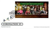 2020 CORONATION STREET 60th Mini Sheet GB FIRST DAY COVER FDC *NICE* 28.5.20 P/o