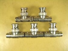 Bnc Tee Bnc Male to Female Adapter Lot of 5