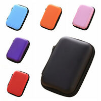 Fashion Headset Protect Carry Hard Case Bag Storage Box Headphone Earphone TK