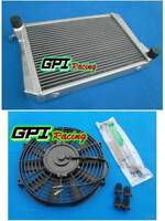 Aluminum alloy radiator & FAN MG Midget 1275 MT Manual 1967-1974 1973 1970 71