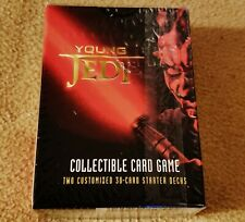 New Star Wars Young Jedi Menace of Darth Maul Starter Deck, 1999 Decipher