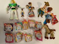 Vintage 1999 McDonald's Toy Story 2 Happy Meal 9 Toys NIP + 6 More Items.