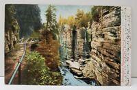 Table Rock AuSable Chasm Adirondack Mountains  NY Postcard B3