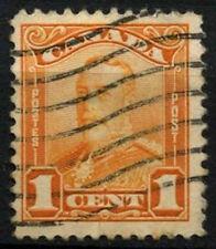 Canada 1928-9 SG#275, 1c Orange KGV Used #D45390